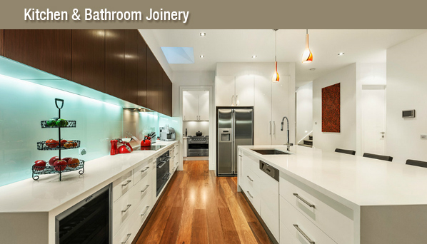 Kitchen and bathroom joinery